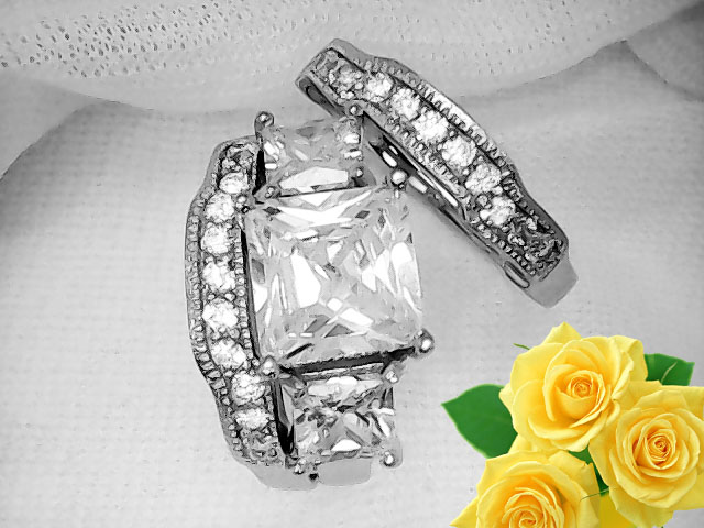 3 Pieces, Pure Sterling Silver 925 # GSR0193